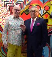 Kunstsammler und Verleger Frank Wohlfarth präsentiert über Jahre schlummernden Kunstschatz