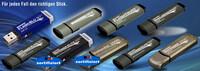 Hochqualitative USB-Sticks bis 256GB, mit Schreibschutz und Seriennummer