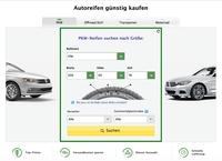 Pkwteile.de Reifen-Absatz auf 1000 Bestellungen am Tag