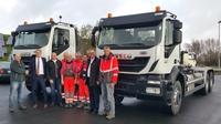 showimage Abfallwirtschaft: Zweckverband Friesland/Wittmund setzt moderne Fraikin-Fahrzeuge ein
