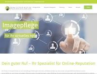 DeinguterRuf. de relaunched Webseite