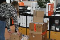 Weihnachtsshopping im Internet: Wenn sich private Pakete am Arbeitsplatz stapeln
