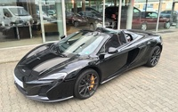 SmartTOP retractable hard top control now available for the McLaren 650S Spider