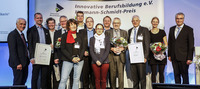 Innovative Berufsbildung für Industrie und Handwerk 4.0: Vier Projekte erhalten den Hermann-Schmidt-Preis 2017