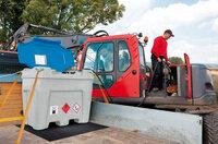 Tanken, to go: Mobile Tankstellen PolyMove von DENIOS
