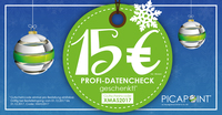 Profi-Datencheck bei Online Druckerei PICAPOINT geschenkt