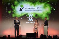 Axia Award 2017: WOLFF & MÜLLER gewinnt Sonderpreis Integration
