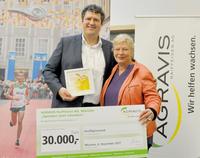 AGRAVIS Raiffeisen AG spendet 30.000 Euro für Kinderhospiz-Arbeit