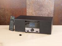 Stereo-Internetradio mit CD-Player, DAB+/FM, Farbdisplay, Wecker, 32 W