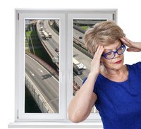 Innovatives PVC Schallschutzfenster spart auch Energie