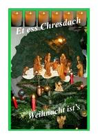 Kleines Weihnachtsmagazin mit Siegerländer Mundart
