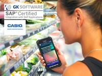 SAP und GK Software zertifizieren Casio erneut
