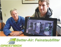 Innovation: Greenbox Feinstaubfilter reinigen Luft in China