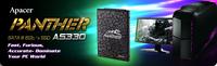 Treffe die neue faszinierende Apacer AS330 PANTHER SSD