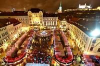 Winterwunder in Bratislava