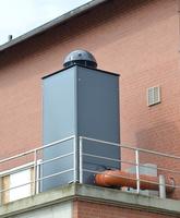 Volumenmax filtert große Mengen stinkender Fäulnisgase in Pumpstationen