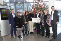 Weihnachtsspende von Arvato Financial Solutions: 15.500 Euro für benachteiligte Kinder, Jugendliche und Frauen