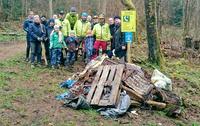 MTB Siegerland pflegt Wald und Flowtrail