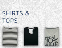 Topaktuelle Shirts von CECIL und Street One...