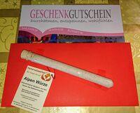 Schenken Sie Gutscheine der Salzgrotte Karlsruhe
