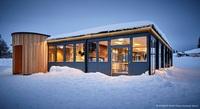 Rothaus Chalet auf dem Feldberg - gebaut mit den neuen Raum-Modulen von addhome