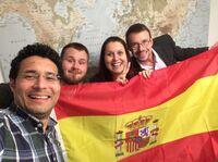 Im Coburger Rathaus spricht man spanisch
