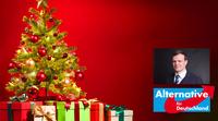 AfD: Falk Rodig wünscht armen Kindern in Berlin-Lichtenberg Frohe Weihnachten