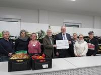 Kooperation: Rüsselsheimer Tafel & Volksbank Rüsselsheim