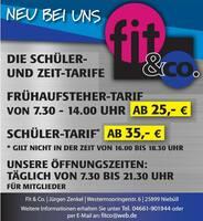 Top Fitness-Studio in der Westermooringer Str. 6 in 25899 Niebüll (Gewerbegebiet).