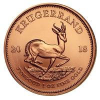 Krügerrand Goldmünze mit neuem Jahrgang 2018 ab sofort orderbar