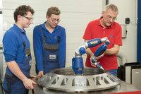 Lebenslang Lernen im Maschinenbau - Ausbildungsoffensive