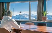 Skigebiet LAAX eröffnet Open Office für zukunftsorientiertes Arbeiten