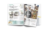 Magazin trifft Katalog: Bloom inszeniert hochwertige Magaloge für küchenquelle