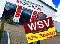 WSV 2018 bei schuhplus - Schuhe in Übergrößen: 50% Rabatt auf Alles