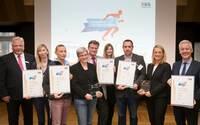 Gesunde Unternehmen Challenge Bremen: Senatorin Quante-Brandt ehrt Sieger