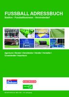 Adressen für Fussballvereine im neuen Fussball Adressbuch ePaper unter: fussball-adressbuch.de