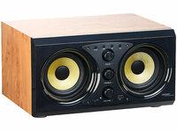 2.0-Soundsystem MSX-400 im Holzgehäuse, Bluetooth 3.0, Musik-Player, 60 Watt