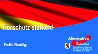 Berlin - Falk Rodig: AfD rettet Europas größtes Tierheim