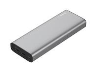45 Watt Ladestrom für Notebooks, Smartphones und Tablets: XLayer Powerbank PLUS MacBook unterstützt USB Power Delivery