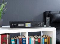 Digitaler WLAN-HiFi-Tuner mit Internetradio, DAB+, UKW, Streaming, MP3