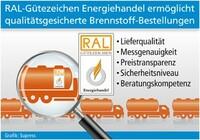 Qualitätsgesicherte Brennstoff-Bestellungen