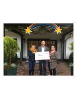 Spendenübergabe an das Kinderhospiz Sterenenbrücke
