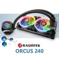 NEUHEIT bei Caseking - Eindrucksvolle Raijintek Orcus RGB & Orcus Core RGB Komplettwasserkühlung.