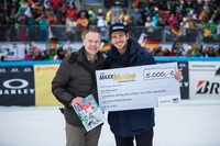 Ein starkes Team: Felix Neureuther und OMV Deutschland gemeinsam für den guten Zweck