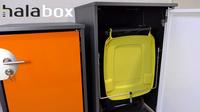 Innovative Mülltonnenbox auf der Bau-Expo 2018 zu sehen
