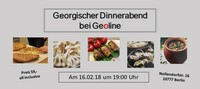 Georgischer Dinnerabend