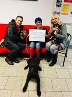 Tierheim freut sich über 3.000 EUR