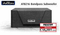 showimage Compact and good value - the new AXTON subwoofer ATB216