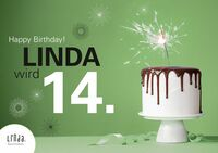 LINDA FEIERT 14. GEBURTSTAG