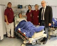 Start der neuen Abklärungseinheit der Notaufnahme der Goldberg-Klinik